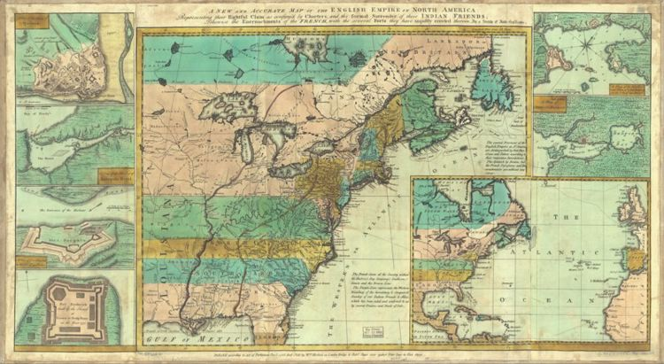 The American Revolution An Everyday Life Perspective - Map of us after revolutionary war